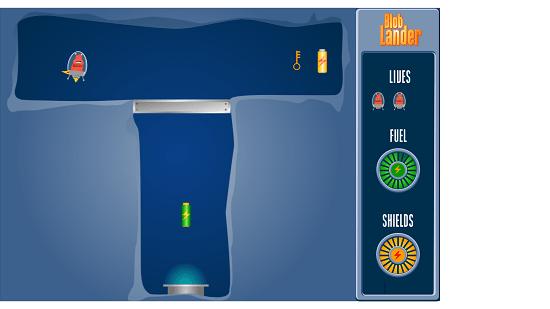 Blob Lander gameplay