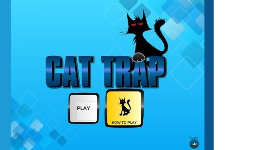Cat Trap Button Hover effect