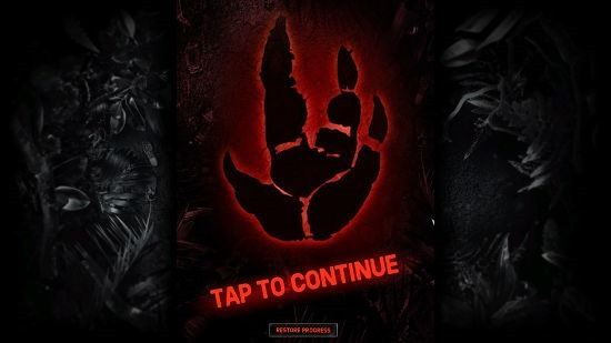 Evolve Hunters Quest Main Screen