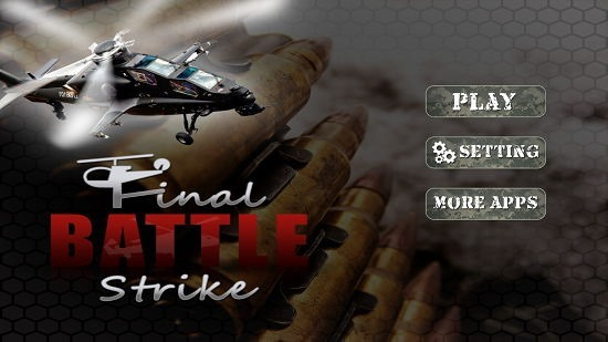 Final Battle Strike FPS 3D main screen