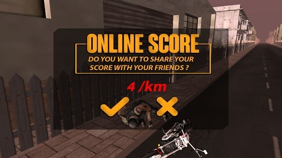 Highway Stunt Bike Riders Pro game over