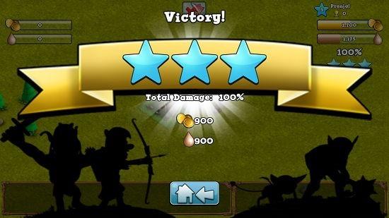 Hugo Troll Wars victory