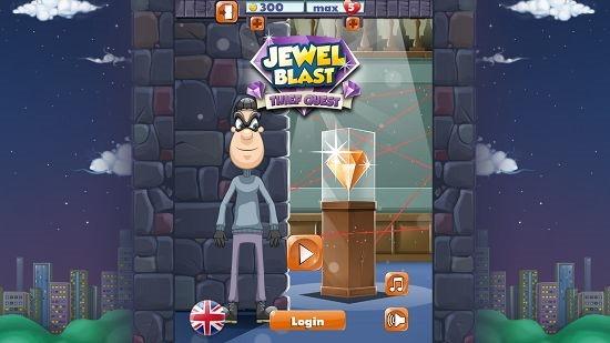 Jewel Blast main menu