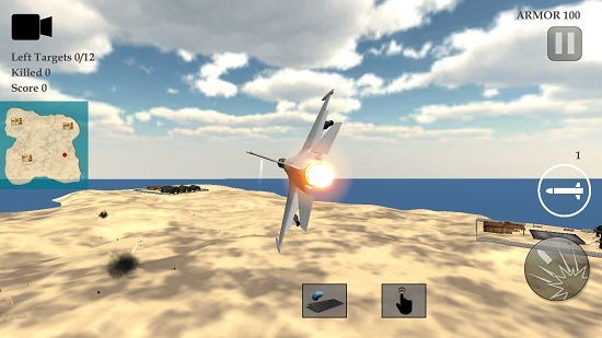 Real Fighter Air Simulator gameplay