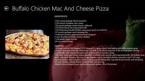 Recipe Magic Instructions