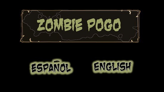Zombie Pogo Select Language