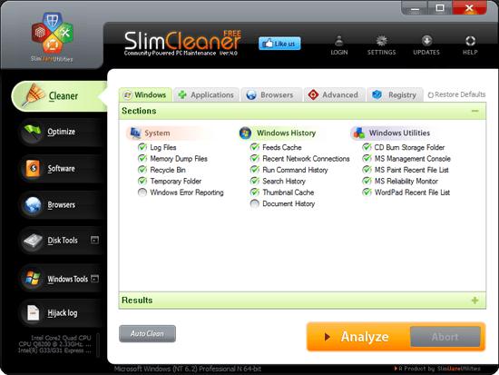 SlimCleaner by SlimWare