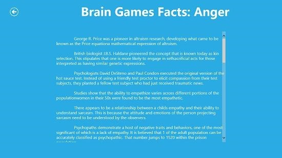 Nat Geo Brain Games Articles