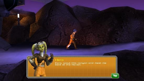 Star Wars Rebels Recon Missions gameplay