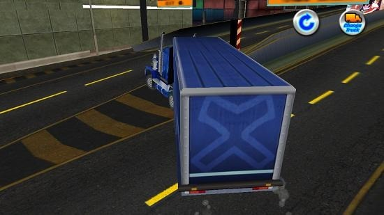 Trailer Truck Simulator 3D gameplay