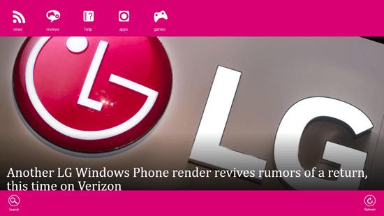 Free Windows 8 News App