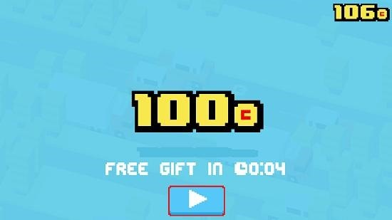 Crossy Road free gift