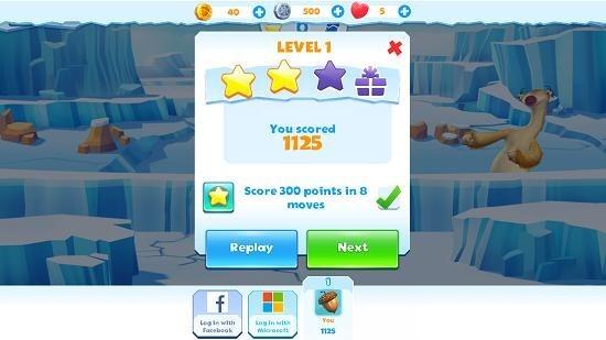 Ice Age Avalanche score