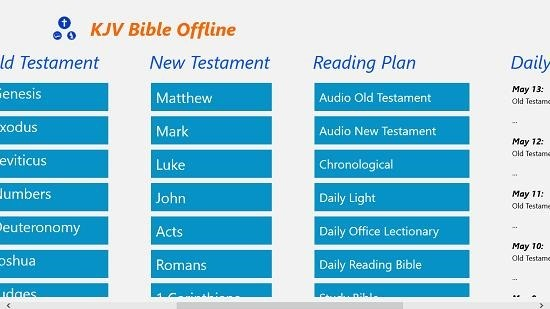 KJV Bible more categories
