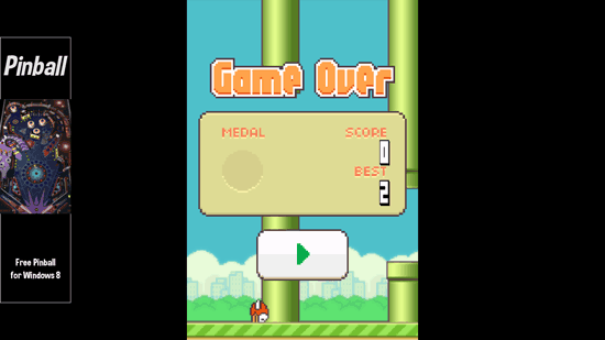 Free Flappy Bird Game For Windows 8: Flappy Bird 8