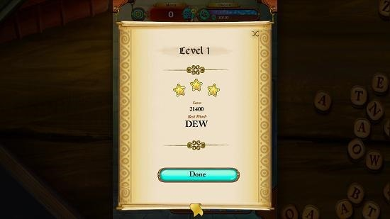 Disney Words of Wonder level cleared