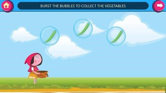 GS Kids! Toddler games floating bubbles