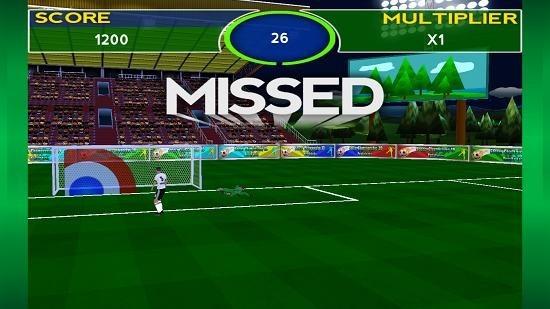 Soccer Championship 3D missed