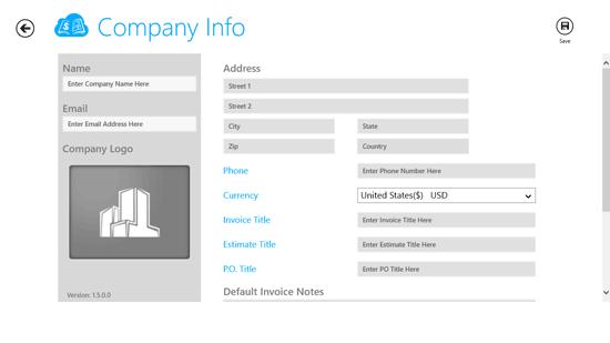 Free Invoice Generator App