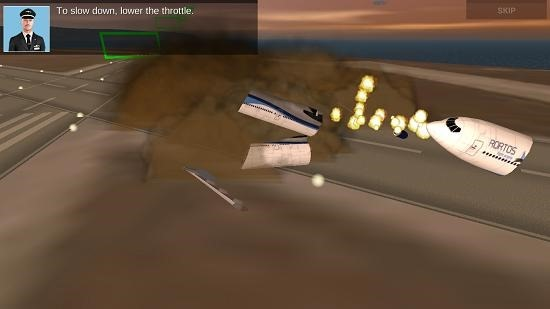 Extreme landings crash