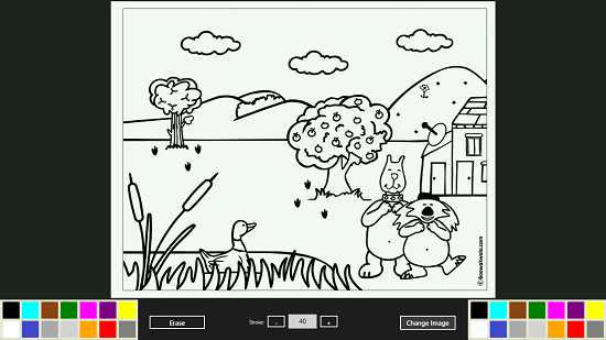 Coloring Book For Windows Pattern Artistically Part