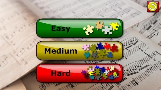 Kids Musical Jigsaw Puzzles difficulty
