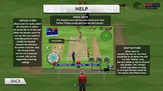 Real Cricket 15 help