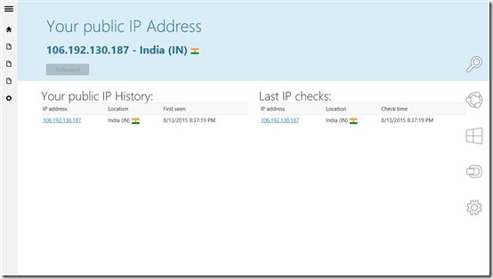 Windows App To Find IP Address: My IP Address Report