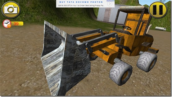 Free Simulator Game for Windows 8: Bulldozer Extreme Simulator 3D