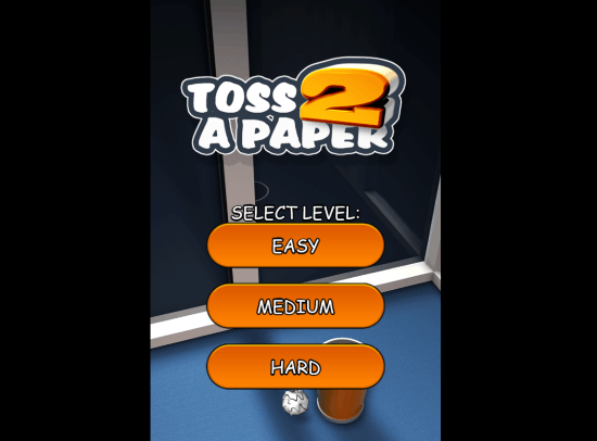 paper toss game for windows 8