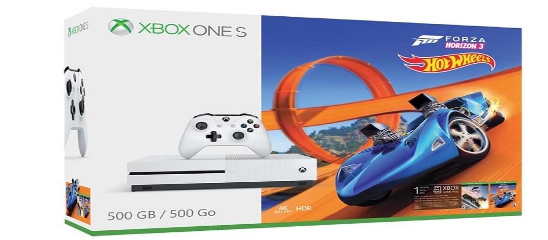 Xbox One S Forza Horizon 3 Hot Wheels — новый пакет от Microsoft