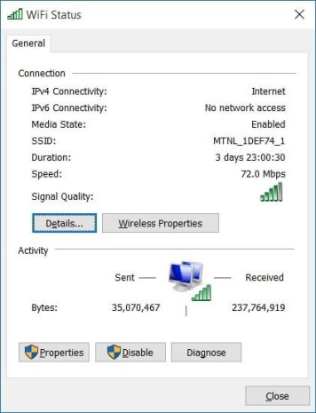 Fix Limited WiFi Connectivity Problem in Windows