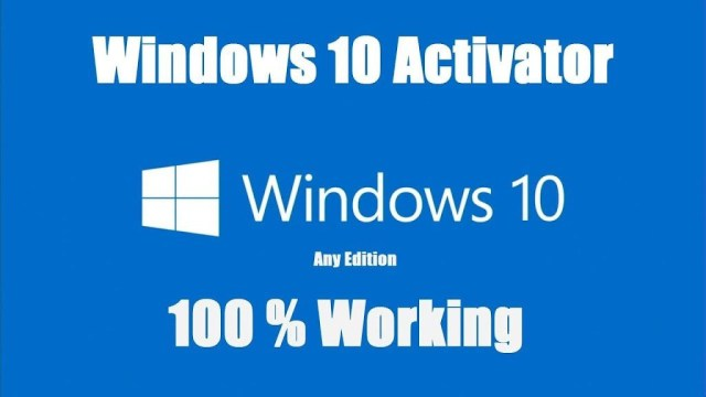 Windows 10 Activator - Product Key - Loader - KMS Activator {Latest