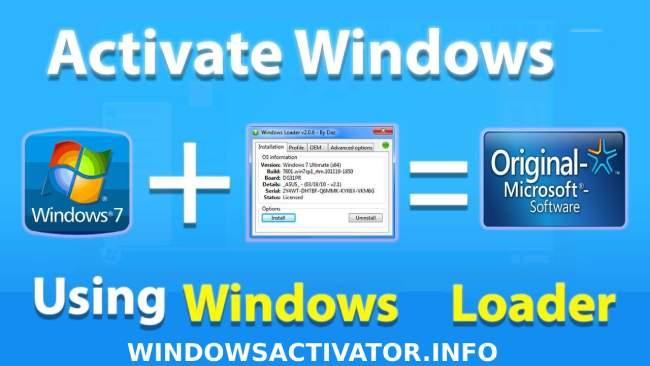 Windows Loader - Windows 7 Loader Activator Free Download by DAZ