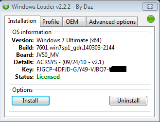 Windows 7 Loader Activator v2.0.6 Free Download Full.