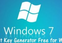 Windows 7 Product Key Generator 32/64 bit Working 100%
