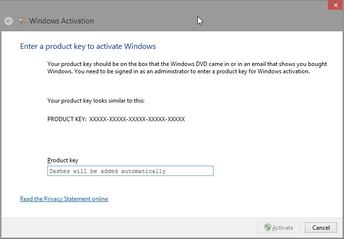 Windows 8 Product Key 100% Working Full Free Download