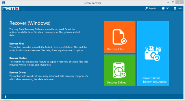 Remo Recover 4.0 License Key [ Crack ] Free Download