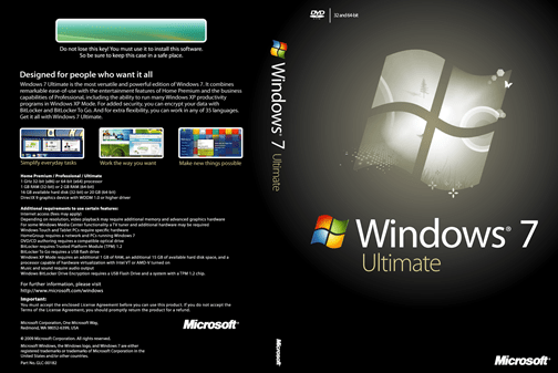 Windows 7 Ultimate ISO 64 Bit / 32 Bit [ Activated ] FREE Download