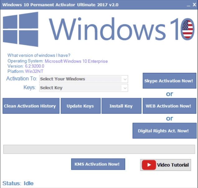 Windows 10 Permanent Activator Ultimate Free Download