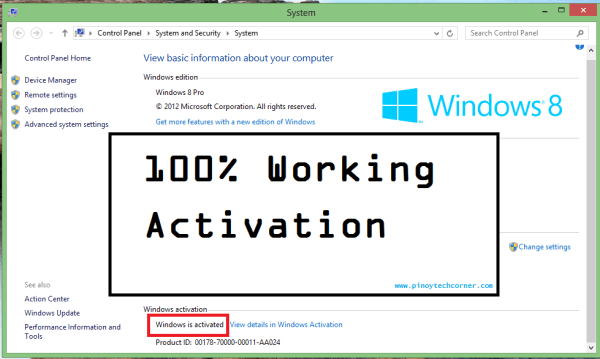 Windows 8 Pro Activator 2019 Full Download
