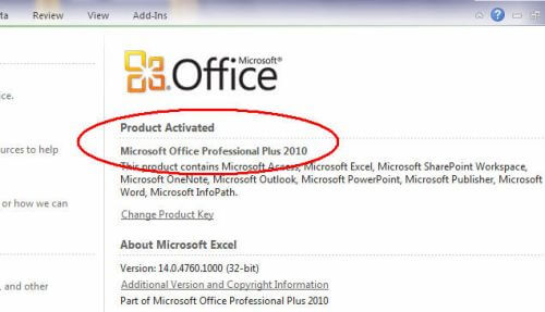 reloader activator for office activation