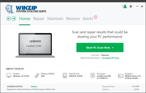 WinZip System Utilities Suite crack