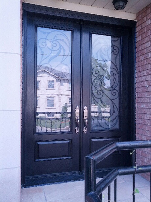 Front Entry DoorsWrought Iron DoorsSerafina Design