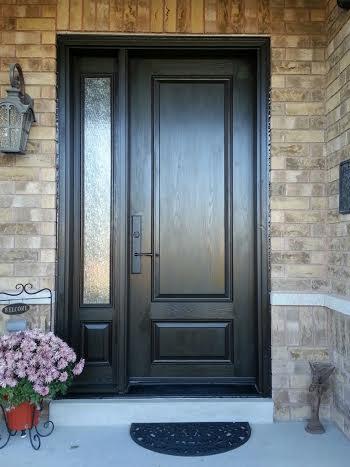 Executive Fiberglass Door2 panel fiberglass door with
