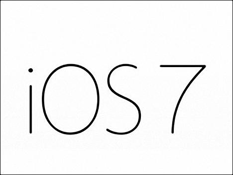 iOS 7 para el iPad