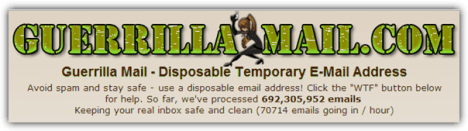 guerrillamailcom