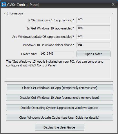 Seguir con Windows 7 y bloquear Windows 10