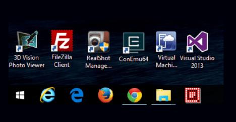 Truco Windows 10 Cmo cambiar el tamao de iconos en la Barra de TareasWindows Aplicaciones