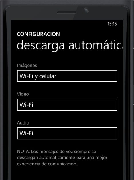 Descarga automatica WhatsApp en Windows 10